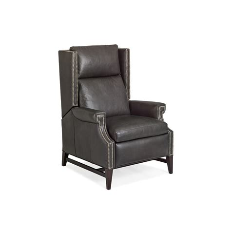 Hancock And Leather Recliners by Hancock And 1092 Leather Recliner Discount Furniture At Hickory Park Furniture