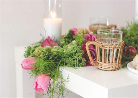 fresh flower table runner diy wedding fresh floral table runner julep