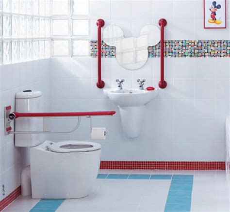 Kids Mickey Mouse Bathroom Decor Office And Bedroom Mickey Mouse Bathroom Fixtures