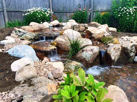 aquascape design waterfall waterfall created by aquascape designs in st charles il