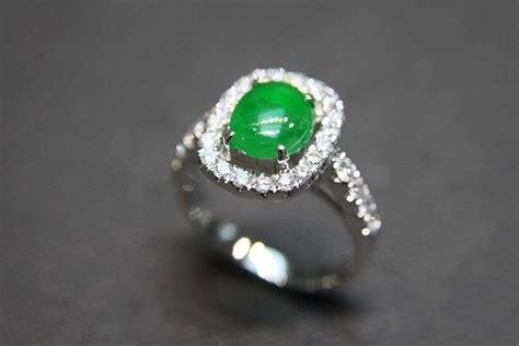 jade engagement ring the precious gemstones