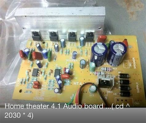 audio circuit board   home theater system  rs