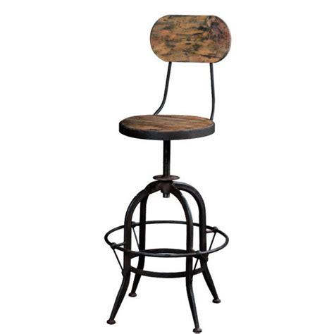 sgabelli ferro vintage sgabello legno e ferro mobili etnici provenzali shabby