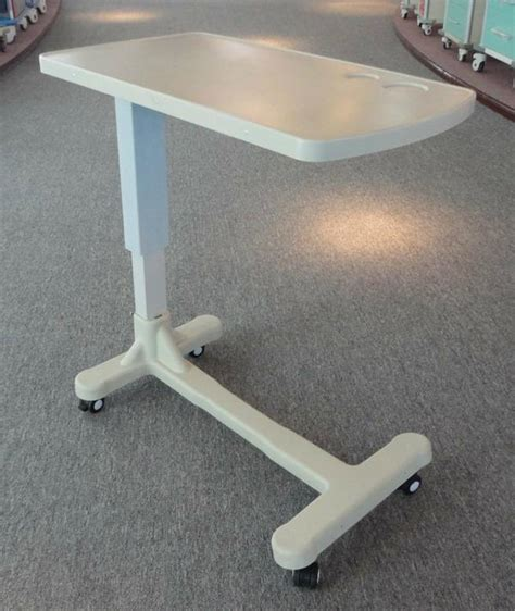 diy bed table diy overbed tableheight adjustable abs over bed table bt