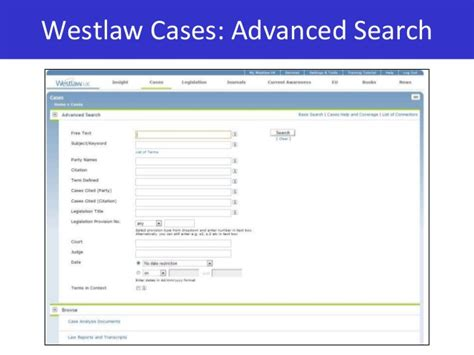 Westlaw Search Land 2014 15
