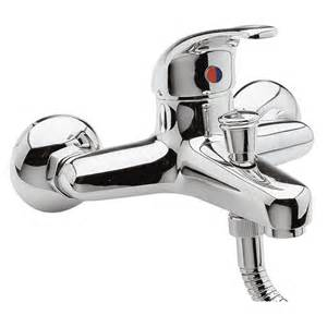 Shower From Bath Taps Holly Chrome Wall Mounted Bath Filler Shower Mixer Tap Ebay