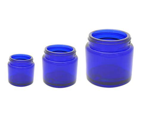 blue jars nda wholesale boston cobalt blue jar glass jars from new directions aromatics