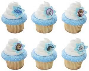 disney frozen cupcake rings 12pk cake toppers