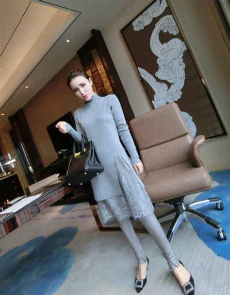 Baju Blouse Atasan Wanita Renda Cantik Korea Murah baju turtleneck lengan panjang renda cantik jual model