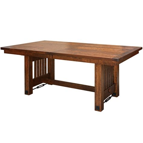 plank dining room table plank top table amish dining room tables