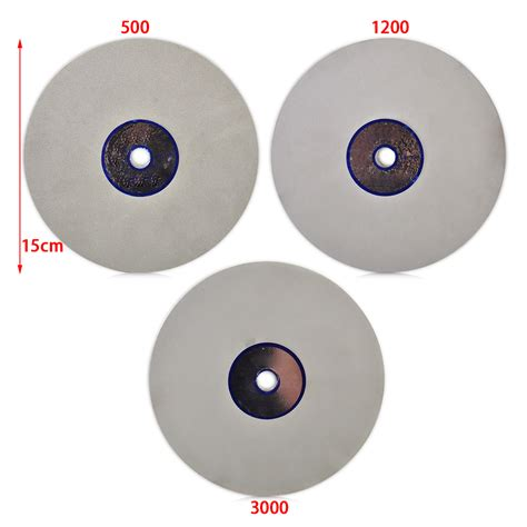 Polishing Grind Disk Disc Kanaya 6 Inch 6 quot flat lapidary polishing wheel disc