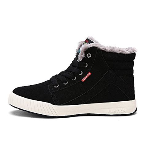 mens fur snow boots do bomrvii s winter fur lining ankle warm lace up