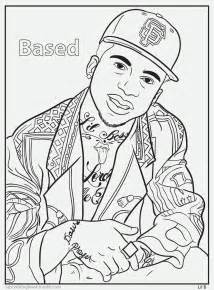 rap coloring book bun b s jumbo coloring and rap activity click