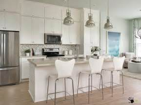 Smart ideas of kitchen and living room in one place