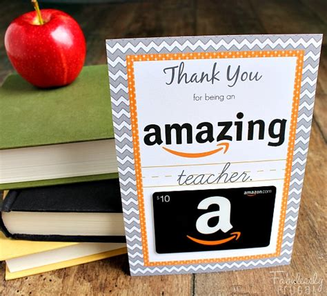 Can You Use Two Gift Cards On Amazon - teacher appreciation gift cards