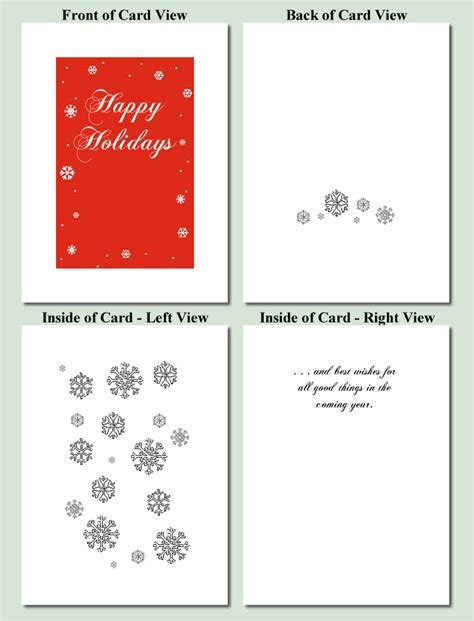 printable christmas cards designs free snowflakes design free printable christmas cards