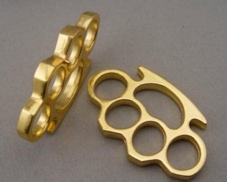 Promo Brass Knuckle Hitam Recomended best one pcs thick thick 12mm brass knuckles knuckle duster gold silver 7 94 dhgate