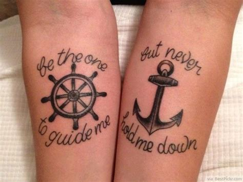 couple anchor tattoos 25 best ideas about matching relationship tattoos on