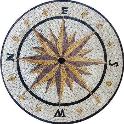 rose pattern for mosaic 17 best images about compass rose mosaics on pinterest
