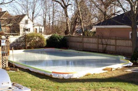 backyard rink liner triyae com backyard rink liner various design