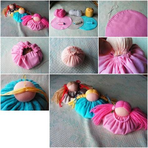 Interior Design Christmas Decorating For Your Home by How To Sew Cute Custom Fabric Doll Decoration Step By Step