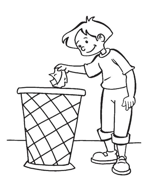 clean earth coloring pages keeping earth clean is the duty of every citizen coloring