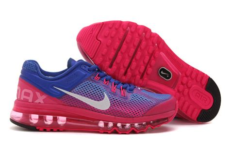 air max 2013 nike running shoes blue coolmax