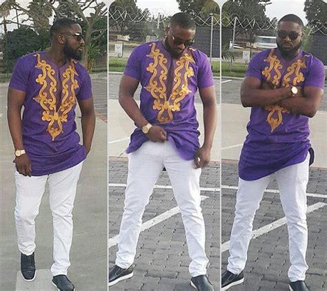 ankara designs and embroidary for men check out this ankara top design for men dezango fashion