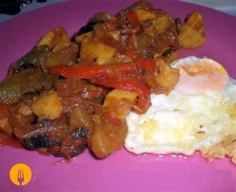 recetas de cocina pisto receta pisto manchego f 225 cil y sencilla