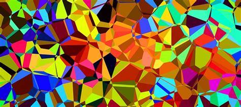 illustration colorful color prism chromatic