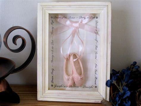 shabby chic shadow box vintage shadow box picture picture frame shabby chic pink shoes on luulla