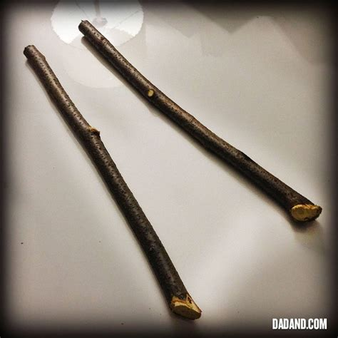 how to make a diy harry potter and hermione granger wand