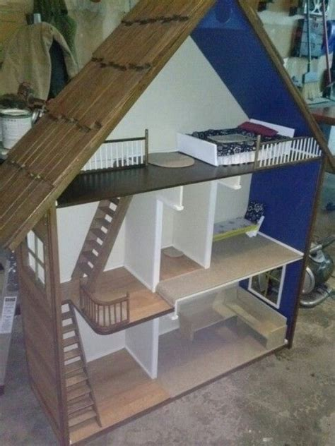 25 Best Ideas About Homemade Barbie House On Pinterest Diy Doll House Homemade