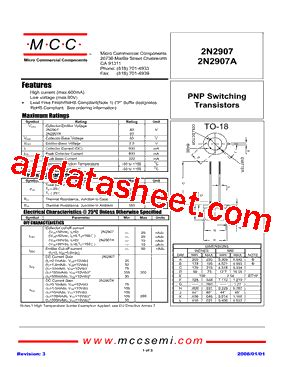 datasheetpdf micro commercial components