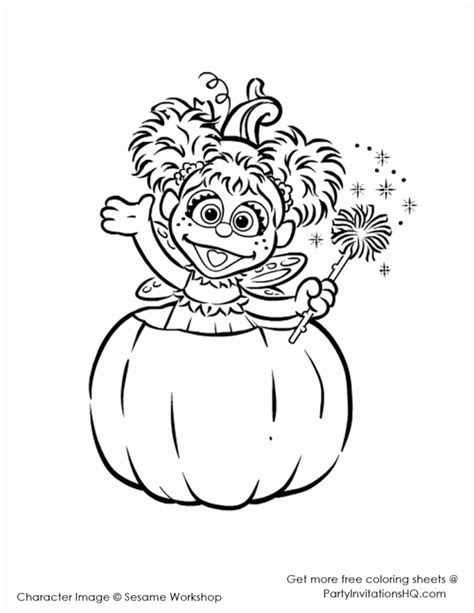 Abby Cadabby Coloring Page Coloring Home Abby Coloring Pages