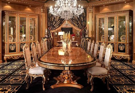 the world s most luxurious dining table and chairs