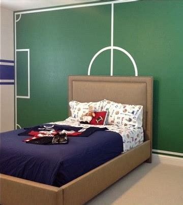 cuartos decorados decoradas para nios beautiful cuartos decorados de futbol