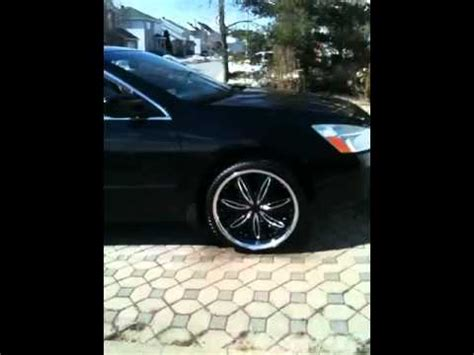honda accord 2004 on 20's youtube