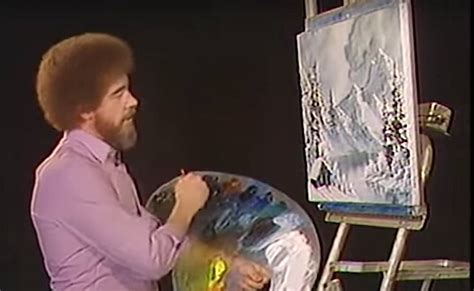bob ross painting gray 50 shades of gray paint colorblind bask in of