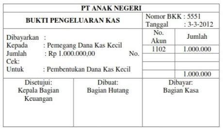 format laporan buku kas umum bku dan kwitansi dana desa 12 contoh macam macam bukti transaksi perusahaan