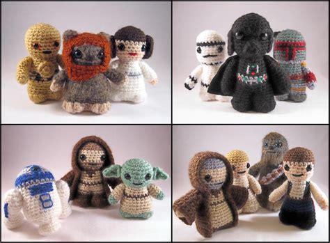 pattern amigurumi star wars crochet mini stuffed heart patterns crochet club