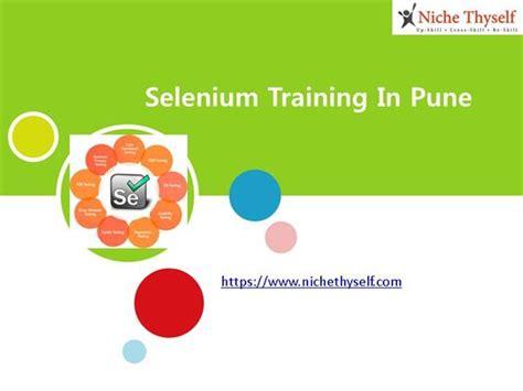 selenium tutorial powerpoint slides selenium training in pune authorstream