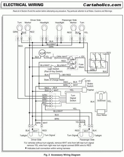 ezgo wire diagram wiring diagram