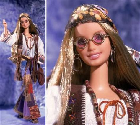 70s fashion doll 70 hippie quot peace quot de collection