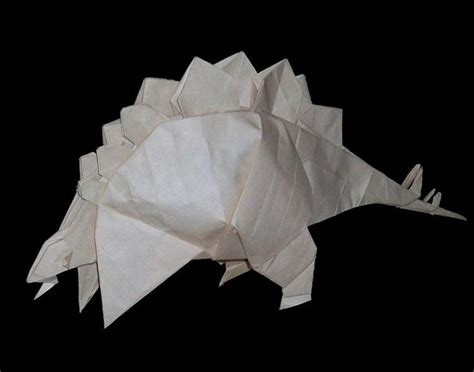 Information On Origami - stegosaurus origami picture