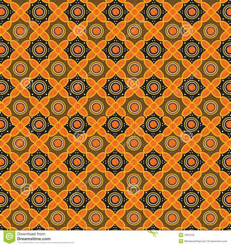 java pattern vector batik pattern background in vector stock vector image