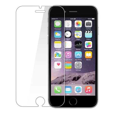 Tempered Glass Iphone 6 6s Screen Guard Warna Color Nano Slim Premium iphone 6 6s tempered glass lc telecom