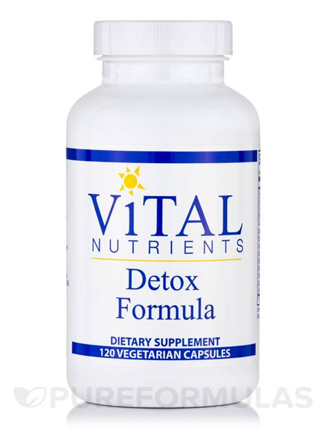 Vital Detox Reviews by Detox Formula 120 Vegetable Capsules