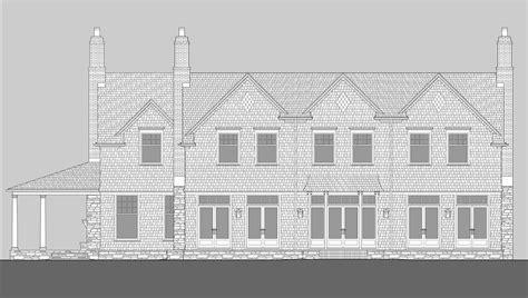 Plan W69079am Traditional Shingle Style Wheeler Bay Shingle Style Home Plans By David Neff