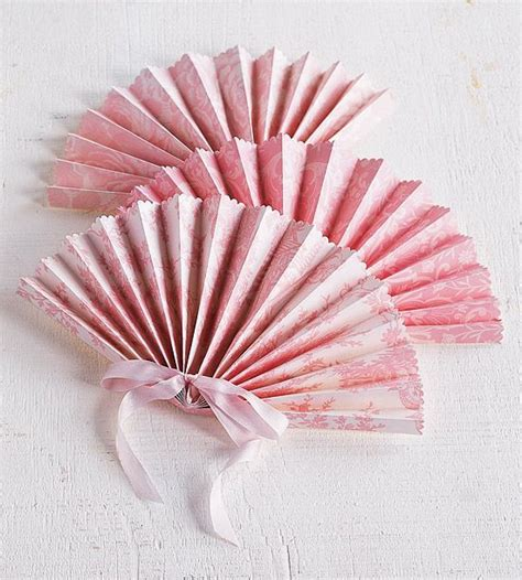 How To Make Paper Fans For Weddings - the world s catalog of ideas